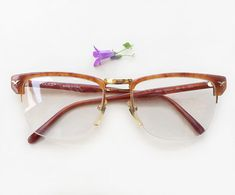43eefd61c497 Police 80s eyeglasses   1980s NOS gold and havana Vintage designer frames    half rimmed made in Italy sunglasses   half rim Luxury eyewear