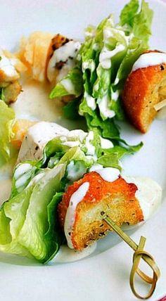 another option to serve Caesar salad