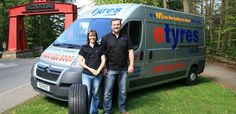 Jeremy and Victoria Valentine both have an interest in motor vehicles, but were in different careers until IT sales manager Jeremy lost his job a year ago. The pair settled on the idea of setting up a North East outpost of national mobile tyre-fitting business Etyres.co.uk from their Beamish home, fixing punctures and replacing tyres and batteries from Durham to Northumberland.