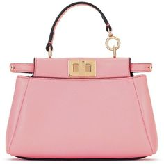 Women s Fendi  Micro Peekaboo  Nappa Leather Bag (470 KWD) ❤ liked on d781ec343e