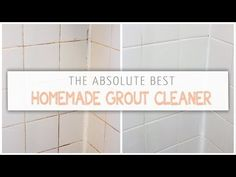 How To Clean Grout With A Homemade Grout Cleaner