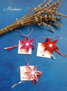 Quilling Flowers Stars Paper Martisoare 2016 Circul Magic