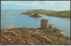 Cromwell's Castle, Tresco, Isles of Scilly, c.1970 - Gibson Postcard