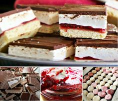 Wagon wheel slice recipe video tutorial cakes and treats кул Healthy Dessert Recipes, Cupcake Recipes, Delicious Desserts, Wagon Wheel Biscuit, Buttery Biscuits, Mini Cakes, Tray Bakes, Sweet Recipes, Sweet Treats