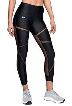 Looking for Under Armour HeatGear Armour Fashion Ankle Crop ? Check out our picks for the Under Armour HeatGear Armour Fashion Ankle Crop from the popular stores - all in one. Cute Workout Leggings, Workout Leggings With Pockets, Yoga Pants With Pockets, Cute Workout Outfits, Womens Workout Outfits, Lululemon Leggings With Pockets, Workout Pants, Legging Outfits, Black Leggings Outfit