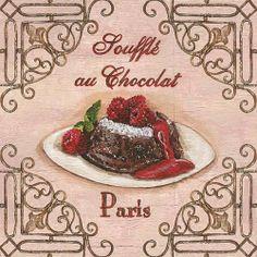 Sufflé au Chocolat
