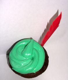Peter Pan Cupcakes.