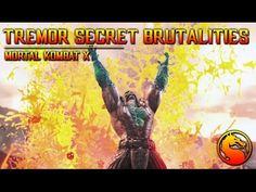 MKX: How to do all Tremors Secret Brutalities Mortal Kombat X, Comic Books, Let It Be, Comics, Comic Strips, Comic Book, Cartoons, Cartoons, Graphic Novels