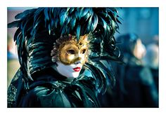 If you have a masquerade ball coming up requiring a Venetian Mask to be worn, look no further. History of the origin & info about Venetian mask makers Venetian Carnival Masks, Carnival Of Venice, Mask Images, Carnival Festival, Beautiful Mask, Beautiful Things, Black Feathers, Coloured Feathers, Peacock Feathers