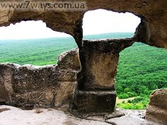 Eski-Kermen cave town / Пещерный город Эски-Кермен, Крым  Маршрут, на котором можно посетить: http://www.7ways.com.ua/tours/crimea-ancient-cities-summer.html