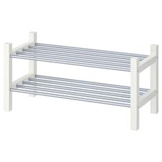 IKEA - HEMNES, Bench with shoe storage, black-brown, Holds a min. Coordinates with other furniture in the HEMNES series. Shoe Storage White, White Shoe Rack, Diy Shoe Rack, Bench With Shoe Storage, Shoe Racks, Hemnes Shoe Cabinet, Shoe Storage Cabinet, Storage Cabinets, Shoe Cabinets