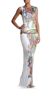 Long dress Women - Dresses Women on Just Cavalli Online Store♥ 1st discovered and pinned by rpenrose