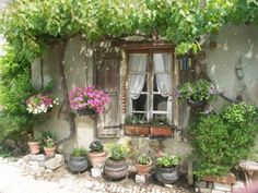 little garden cottage on my property Garden Cottage, Cozy Cottage, Home And Garden, French Cottage, French Country, Outdoor Spaces, Outdoor Living, Casas Shabby Chic, Gazebos