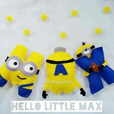 You are one in a minion!  Minion name banner  For customization, Email littlehappypuffs@Gmail.com