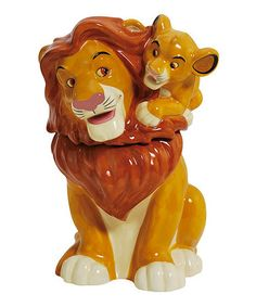 Another great find on #zulily! Simba & Mufasa Cookie Jar #zulilyfinds