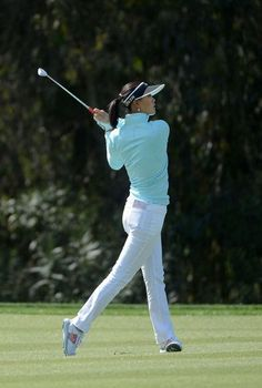 Michelle Wie Michelle Wie hits off of the 1st fairway during the KIA Classic Pro-Am at the Aviara Golf Course on March 27, 2014 in Carlsbad,...