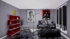 Rock n roll room design