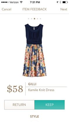 Love to have this in my next Stitch Fix!  I have 2 weddings to attend this summer and this would work nicely!