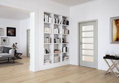 Dveře Sapeli - MERA Sapdecor Dub bílý House Design, Decor, Shelving Unit, House, Bookcase, Home, Home Styles, Home Decor, Room