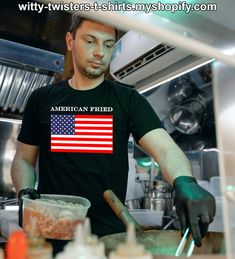 American Fried is about American's that smoke or consume cannabis and then gets fried. Marijuana activists, recreational pot smokers and medical marijuana users can unite with American pride after they get fried. Buy this United States flag cannabis users t-shirt here: Medical Marijuana, Cannabis, Weed Humor, Activists, Smoking Weed, American Pride, Smokers, Adult Humor, Funny Tees