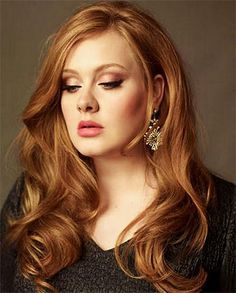 """Adele """"I don't make music for eyes. I make music for ears."""" And yet...she is so beautiful!"""