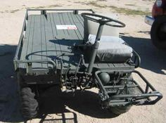 "General Flatbed Utility Vehicle ""Mule"""