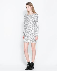 ZARA - MULHER - VESTIDO TUBO LANTEJOULAS  I´m just in love with Zara new collection for Fall/Winter