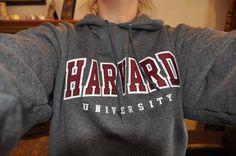 harvard hoodie. ♡