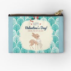 Pouch Bag, Zipper Pouch, Pouches, Wish Come True, Bff Gifts, Matching Outfits, Travel Accessories, Gifts For Family, Happy Valentines Day