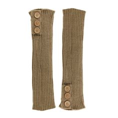 """Gotoole Leg Warmers Women Button Knit Long Sock Legging Boot Shoes Cover Stocks. Type: Leg Warmers. Material: Acrylic fibers. Size Details: 40cm/15.74""""(Approx.). Feature: Loose Comfortable Style, Sweet Lovely Button Design, Easy Match Solid Colors. Package Included: 1 Pair of Leg Warmers."""