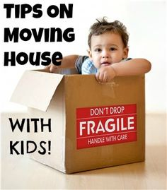 Tips and a list of books to help kids deal with the idea of moving.