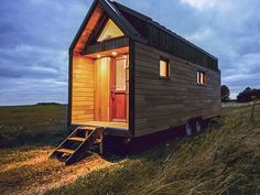 French tiny house L'Odyssée has a different take on the living room