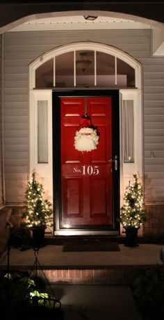 Black trim, Red doors and Paint colors for house on Pinterest