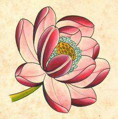 Tattoo ideas for men: Lotus Tattoo Hemet Lotus Tattoo Design, Flower Tattoo Designs, Japanese Lotus, Japanese Flowers, Japanese Sleeve, Tattoo Drawings, Body Art Tattoos, Hand Tattoos, Symbol Tattoos