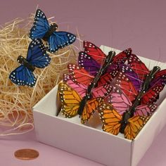 Upcycle Jars and Vases into these stunning Butterfly Terrariums and learn how to make Butterflies out of Plastic Drink Bottles and Soda Cans too. You will love the gorgeous results!