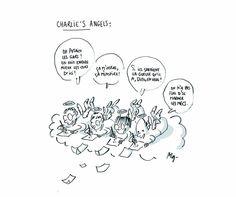 Hommage à Charlie Hebdo par le dessinateur Mg, Maïlys Glaize, Libération. 7 au 9 janvier 2015.