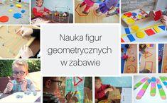 Nauka figur geometrycznych w zabawie - Moje Dzieci Kreatywnie Play, Education, Kids, Figurine, Young Children, Boys, Children, Onderwijs, Learning