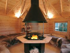 'Arctic Finland House' Sells Personal Scandinavian Grill Houses #cottages trendhunter.com