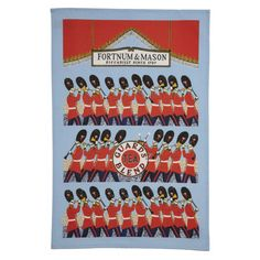 Guards Heritage Tea Towel - Fortnum & Mason