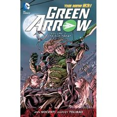 Green Arrow Vol. 2: Triple Threat (The New 52) (Green Arrow (Graphic Novels)): Ann Nocenti, Harvey Tolibao: 9781401238421: Amazon.com: Books
