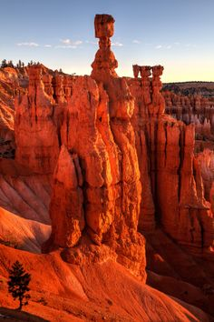 Thor's Hammer, Bryce Canyon National Park, Utah; photo by James Marvin Phelps on 500px