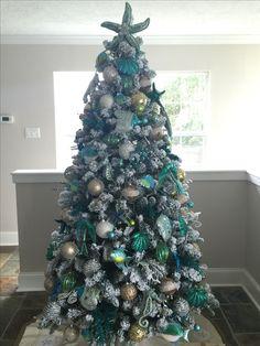Under the sea Christmas tree.