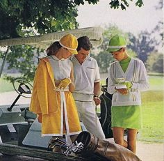 1969 Golf Fashion Ad. I prefer this then today's fashion