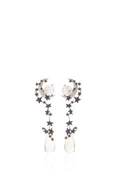 Once Upon A Time Earrings by LYDIA COURTEILLE Now Available on Moda Operandi