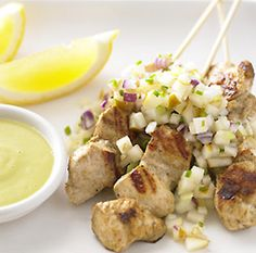 Low GI chicken kebabs