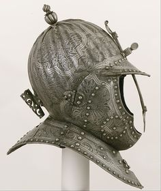 Burgonet for a Cuirassier Date: ca. 1620–30 Culture: French Medium: Steel  C