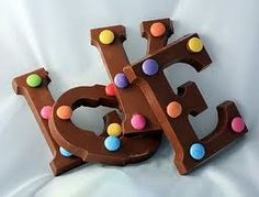 Chocolate alphabet letters - I'll have 26 please! Love Is When, Love Actually, All You Need Is Love, Chocolate Letters, Love Chocolate, Alphabet Beads, Alphabet Letters, Chocolate Pictures, Dutch Recipes