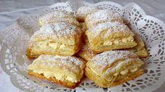 Blätterteigschnitten mit Paradiescreme, ein raffiniertes Rezept aus der Kategorie Kuchen. Bewertungen: 4. Durchschnitt: Ø 3,7.