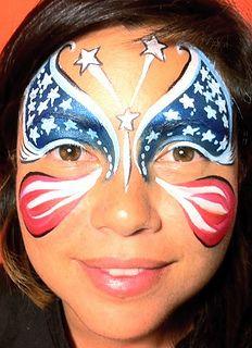 Stars n' stripes butterfly