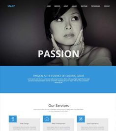 Photography-best-bootstrap-template